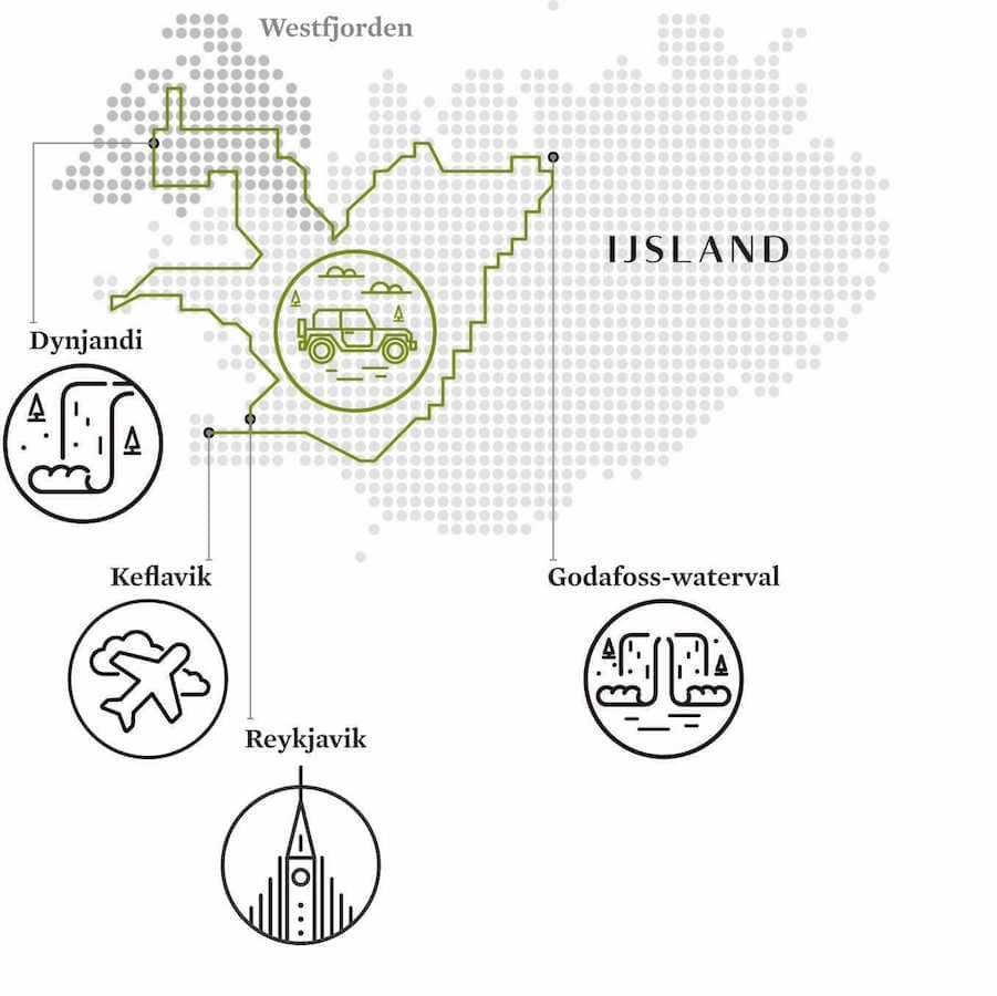 Kaart-van-ijsland-met-pictogrammen